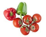 поперчите томат Стоковое фото RF