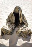 Попечители фестиваля Австралии цацы скульптуры времени Стоковые Изображения RF