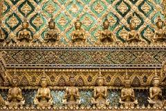 Попечители демона на грандиозном дворце, Бангкоке Стоковые Фото