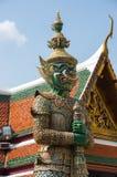 Попечитель демона в Wat Phra Kaeo Стоковые Изображения RF