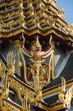 Попечитель демона в Wat Phra Kaeo Стоковые Фото