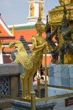 Попечитель демона в Wat Phra Kaeo Стоковое Изображение RF