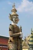 Попечитель демона в Wat Phra Kaeo Стоковая Фотография