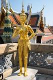 Попечитель демона в Wat Phra Kaeo Стоковое Изображение