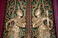 Попечитель скульптуры дверей Стоковые Фото