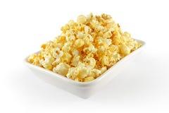 Попкорн в белом шаре Стоковая Фотография RF
