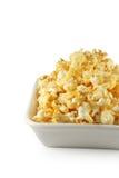 Попкорн в белом шаре Стоковое фото RF