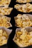 Попкорн в сумках Стоковое Фото