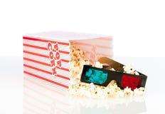 попкорн коробки Стоковое фото RF