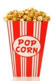 попкорн чашки карамельки декоративный бумажный Стоковое фото RF