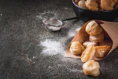 Попкорн Cronuts, отверстия donuts слойки Стоковые Изображения