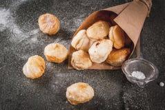 Попкорн Cronuts, отверстия donuts слойки Стоковое Изображение RF