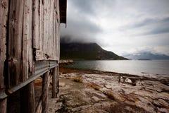 поплавайте вдоль побережья Норвегия Стоковые Фотографии RF