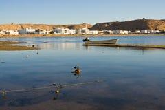 поплавайте вдоль побережья Оман Стоковая Фотография