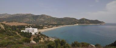 поплавайте вдоль побережья Сардиния Стоковые Изображения RF