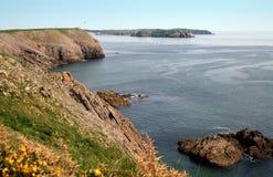 поплавайте вдоль побережья южный вэльс Стоковая Фотография RF