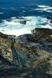 поплавайте вдоль побережья kilkee Стоковые Изображения