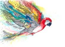 Попугай иллюстрация вектора