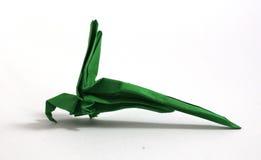 Попугай Origami стоковая фотография rf