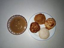 Популярная еда Serabai как показано в TV3 стоковая фотография rf