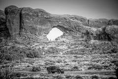 Популярный ориентир в Юте - национальном парке сводов - ЮТА, США - 20-ОЕ МАРТА 2019 стоковые фото