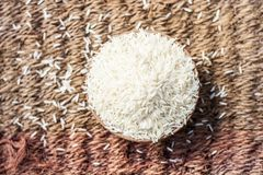 Популярный Basmati рис Стоковое фото RF