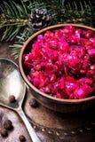 Популярный vinaigrette салата овоща стоковые фотографии rf