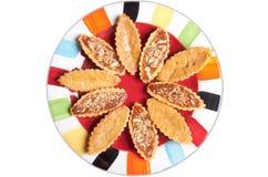 Сладостные пироги для заедок Стоковое Изображение RF