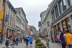 Популярная улица St Paul в старом порте Стоковые Фото