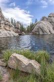 Популярное озеро Sylvan в Южной Дакоте Стоковые Фото