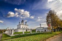 Популярное туристское назначение в Suzdal стоковое изображение