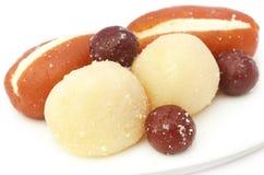 Популярные бангладешские Sweetmeats стоковая фотография