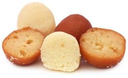 Популярные бангладешские Sweetmeats стоковое изображение