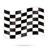 Популярный вектор предпосылки гонок конспекта квадрата шахмат контролера Стоковая Фотография