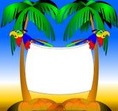 попыгаи 2 иллюстрация вектора