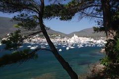 поплавайте вдоль побережья испанские языки Стоковые Изображения RF