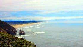 поплавайте вдоль побережья Орегон стоковое изображение