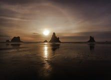 поплавайте вдоль побережья Орегон Стоковые Изображения