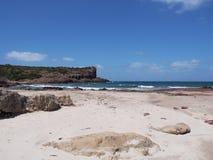 Поплавайте вдоль побережья, Isola di Сан Pietro, Сардиния, Италия, евро стоковые изображения rf