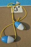 Поплавки бассейна Стоковое фото RF