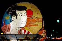Поплавок самураев стоковые фото