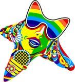 поп-звезда Стоковое Изображение
