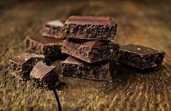 Пористый шоколад Стоковые Изображения