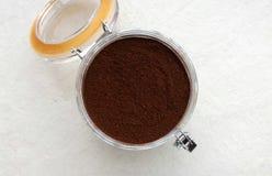 Порошок кофе Стоковая Фотография RF