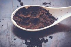 Порошок кофе Стоковое Фото