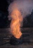 Порошок оружия взрывая Стоковая Фотография RF