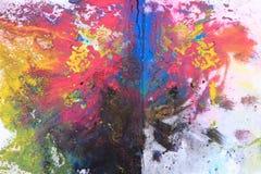 порошок тонера cmyk (cyan, magenta, желтый, чернота) стоковые изображения rf