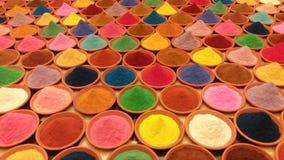 Порошок цвета Стоковые Фото