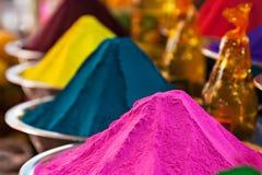 Порошок цвета стоковые изображения rf