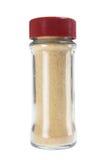 порошок чеснока бутылки Стоковые Фотографии RF